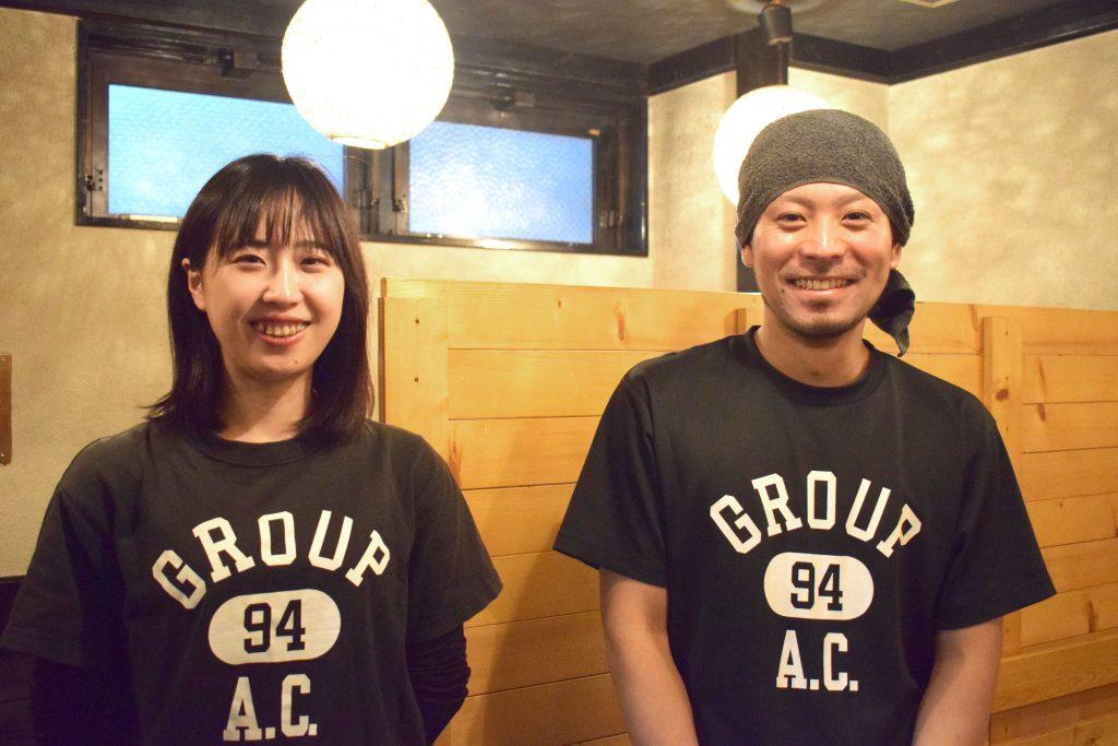 西川友博さんとチヒロさん